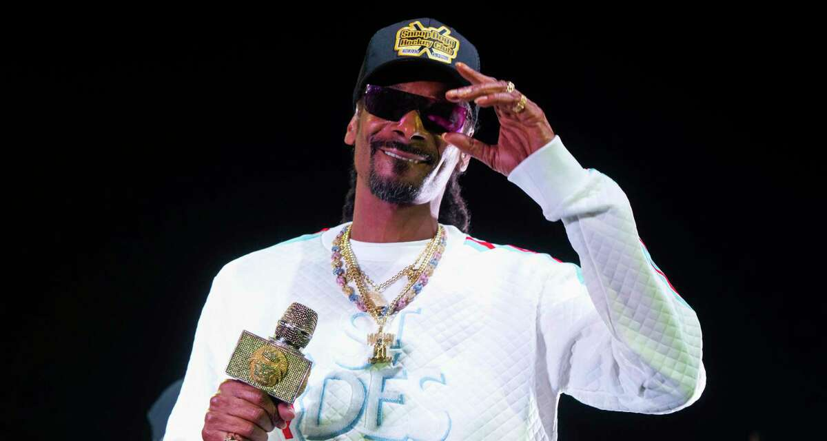 Snoop Dogg is doing double duty Friday at Sunken Garden Theater with rap and DJ sets.