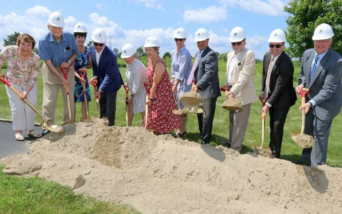 Local officials broke ground this week on a new expansion at The Glen.