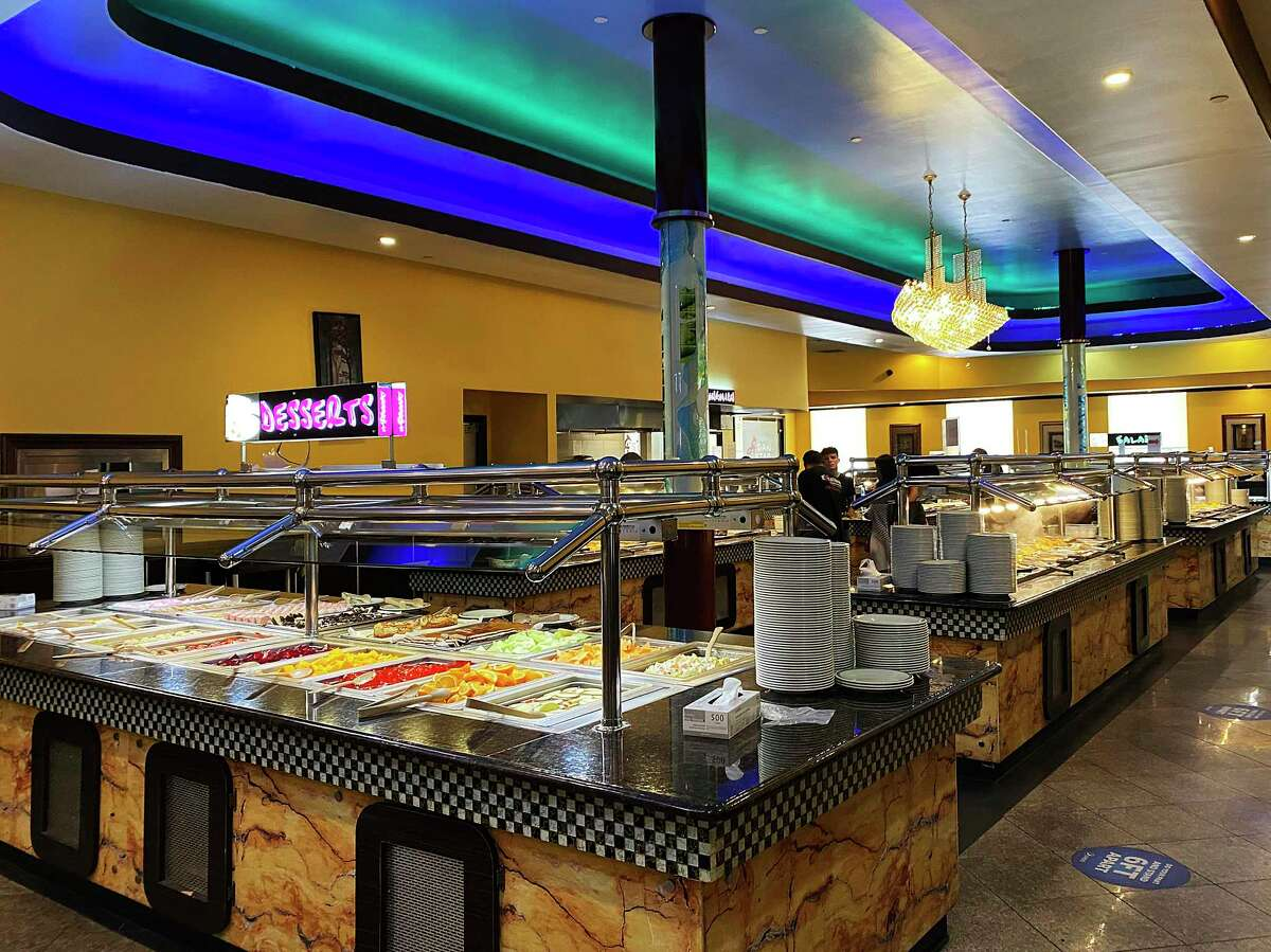 The expansive buffet at Asian Star Super Buffet includes hundreds of Chinese dishes, desserts, sushi, seafood options, salads and more.