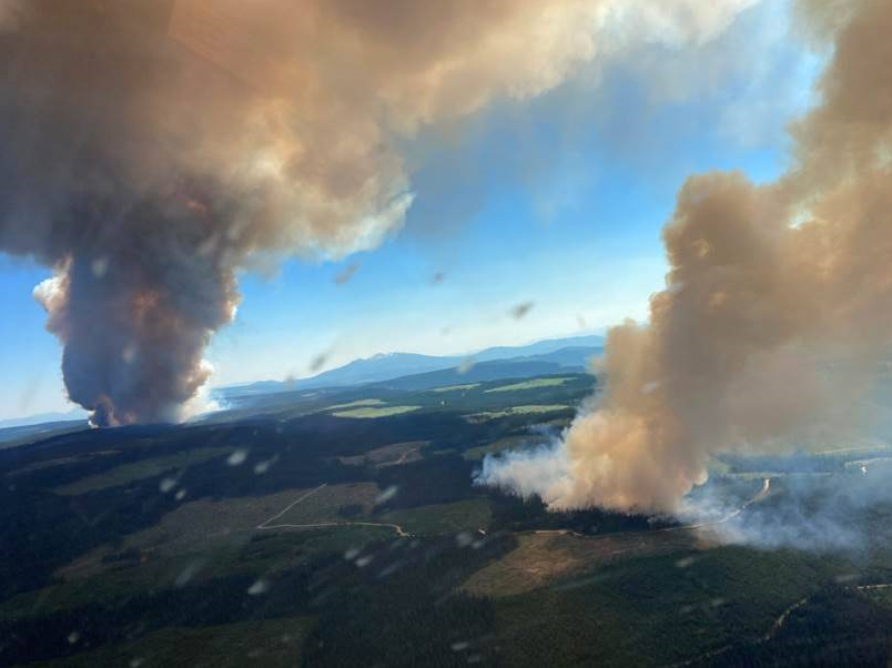 Storm-Producing Fire Clouds Spark Over 710,000 Lightning Strikes in Wildfire-Stricken Western Canada in 15 Hours