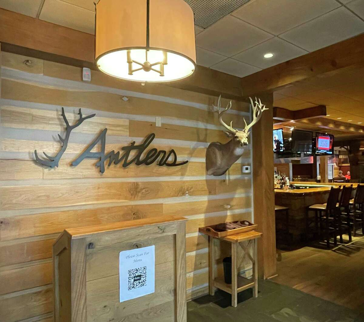 Antlers Fireside Grill in Stanwood is a go-to destination for quality food in a cozy, welcoming environment. (Pioneer photos/Joe Judd)