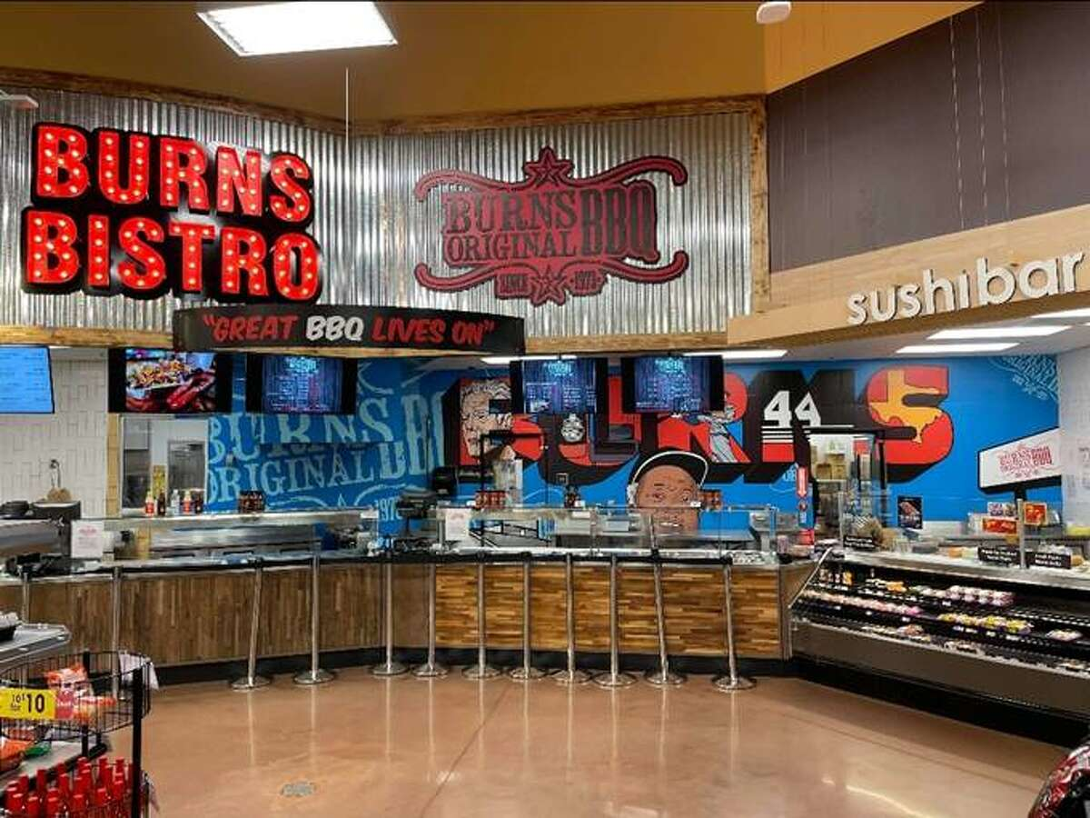 Burns BBQ will open inside the Kroger grocery store at 14221 East Sam Houston Parkway North this Saturday.