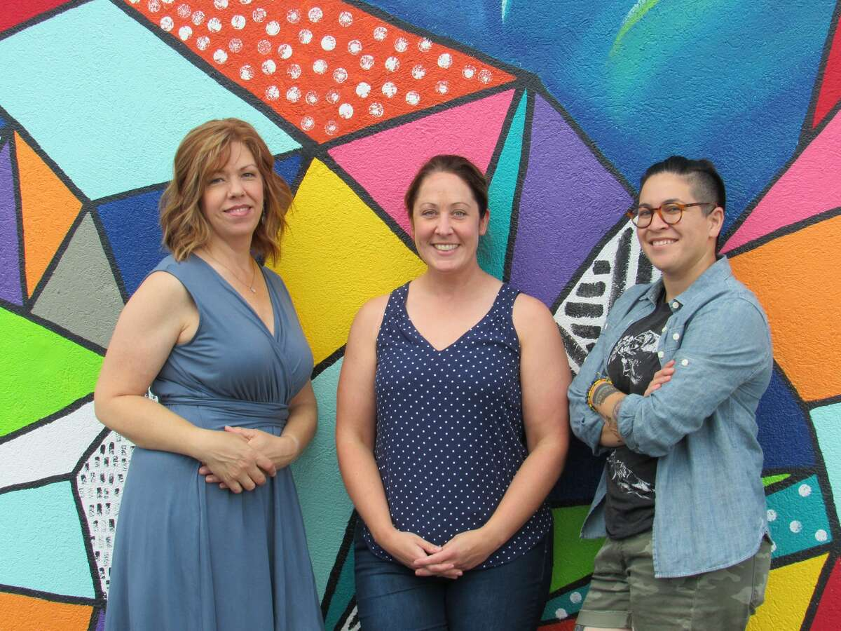 Dacia Parker, Jenni Bush and Jazzmyn Benitez were integral parts of the inaugural Art Seen Festival, hosted by Public Arts Midland.