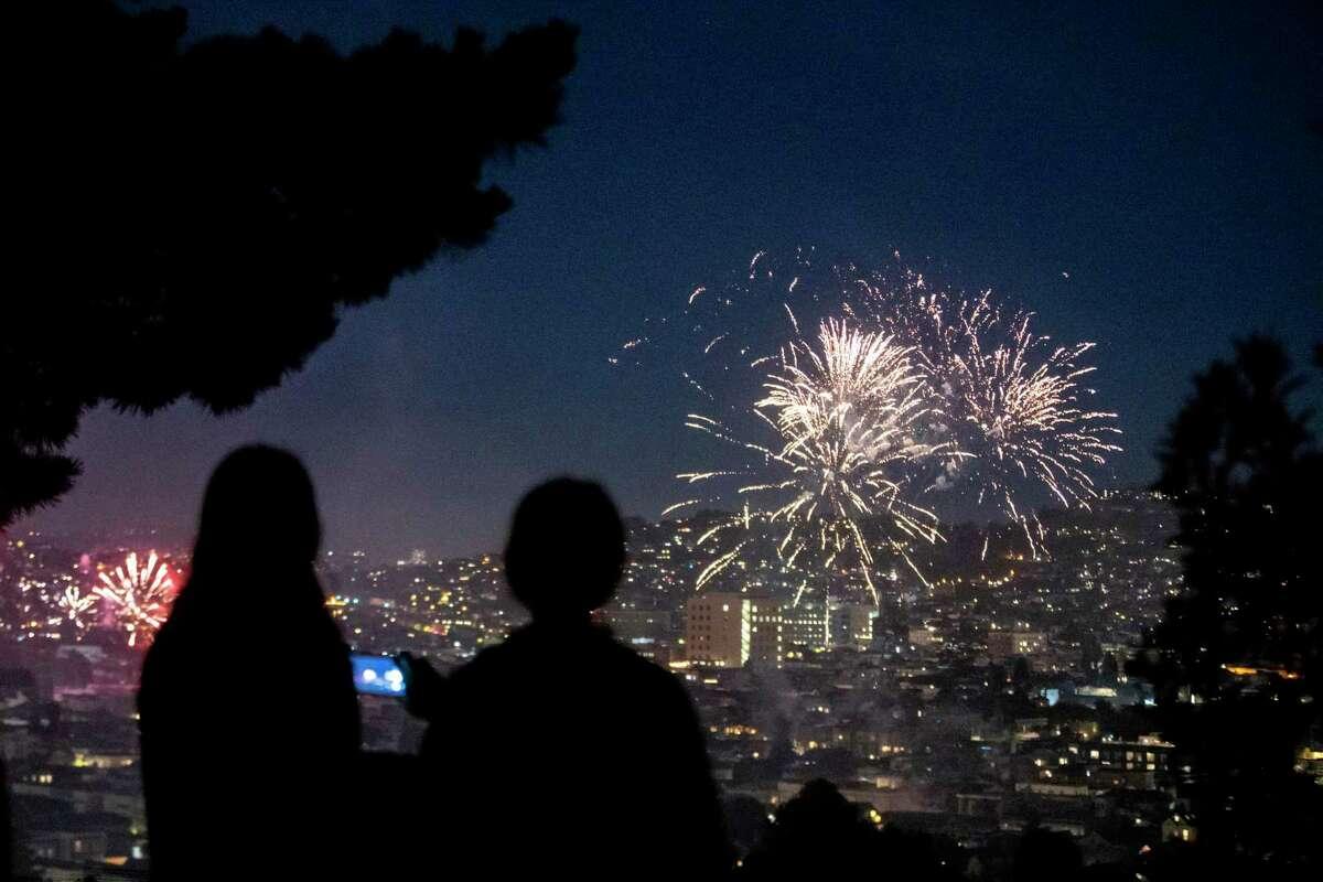 Neighborhood fireworks were big throughout San Francisco last year.