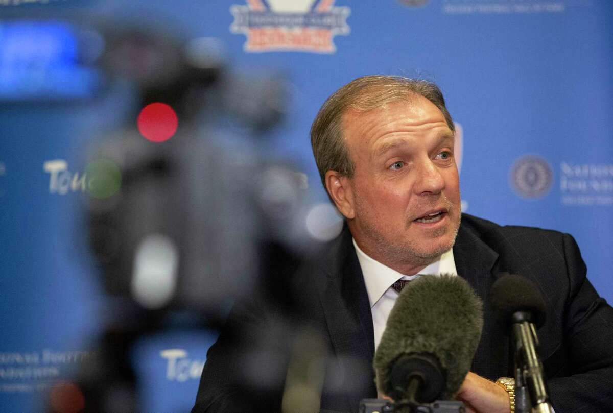 Jimbo Fisher makes $7.5 million as Texas A&M's football coach and is naturally in favor of his players having a chance to earn money off their name, image and likeness but reminds them they still have to be good players to build a brand.