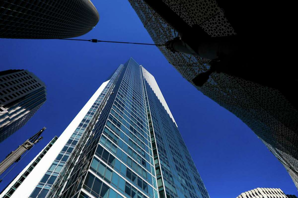 Millennium Tower on Mission Street in San Francisco.