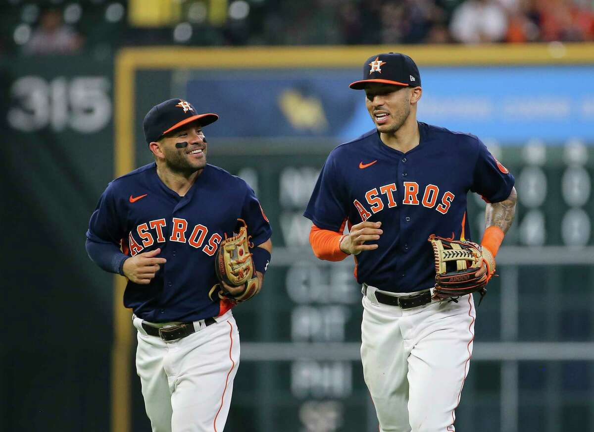 Jose Altuve and Carlos Correa likely both will make the All-Star team, but they weren't named as starters.