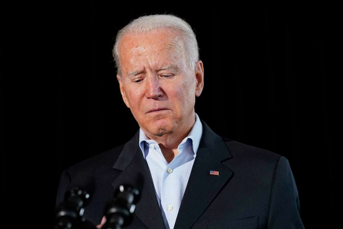 President Joe Biden speaks in Miami Beach, Fla., Thursday, July 1, 2021, about the condo tower in Surfside, Fla., that collapsed last week. Biden spent the day meeting with first responders, local and government officials and visiting with families who have been impacted by the collapse.