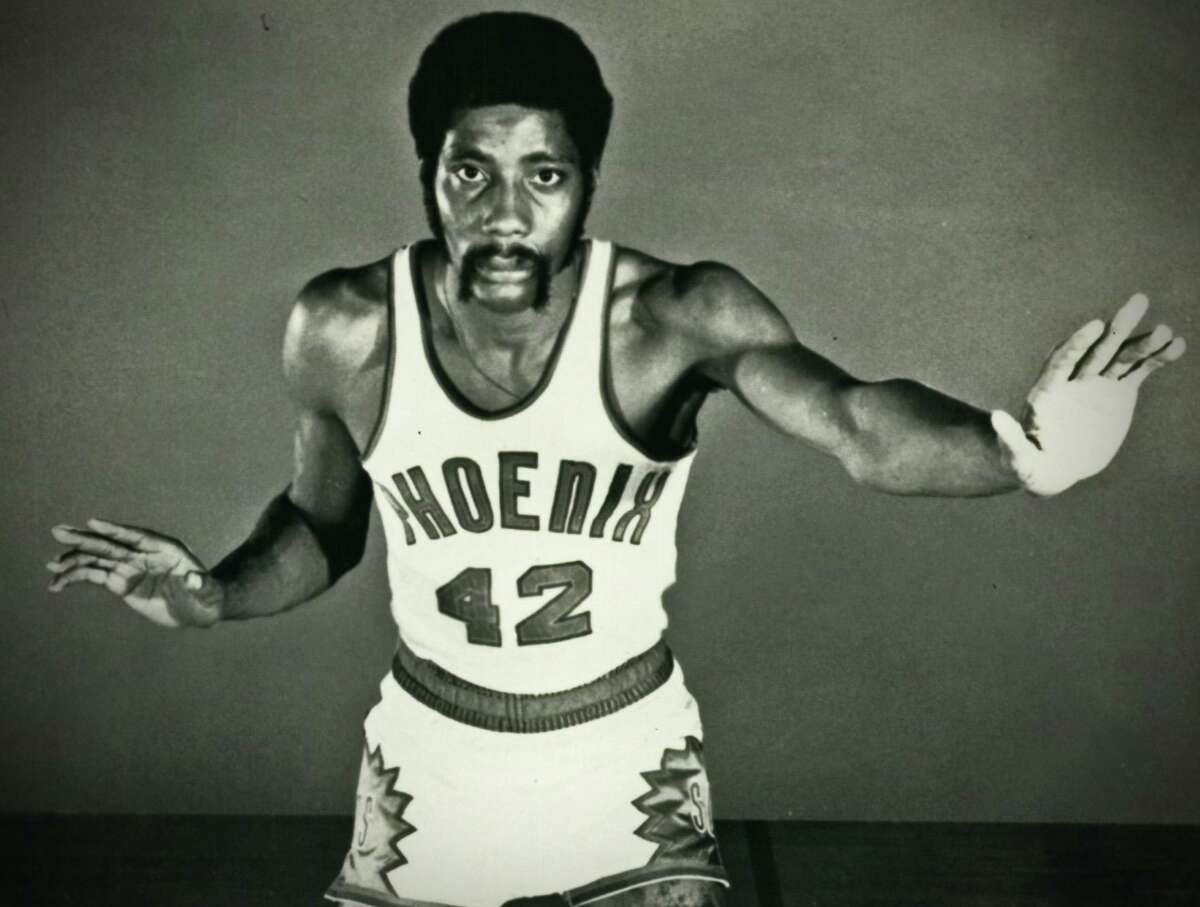 Connie Hawkins during his playing days with the Phoenix Suns.