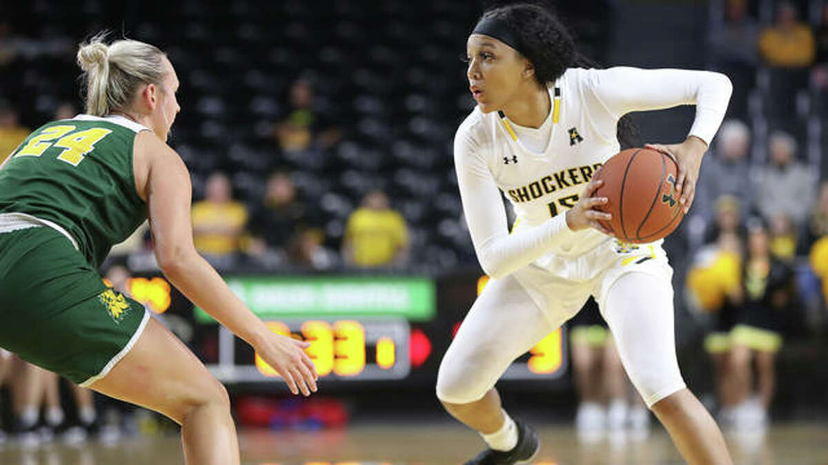 Jaida Hampton will play for the SIUE Cougars after transferring into the program from Wichita State. She is the 2018 Miss Michigan.