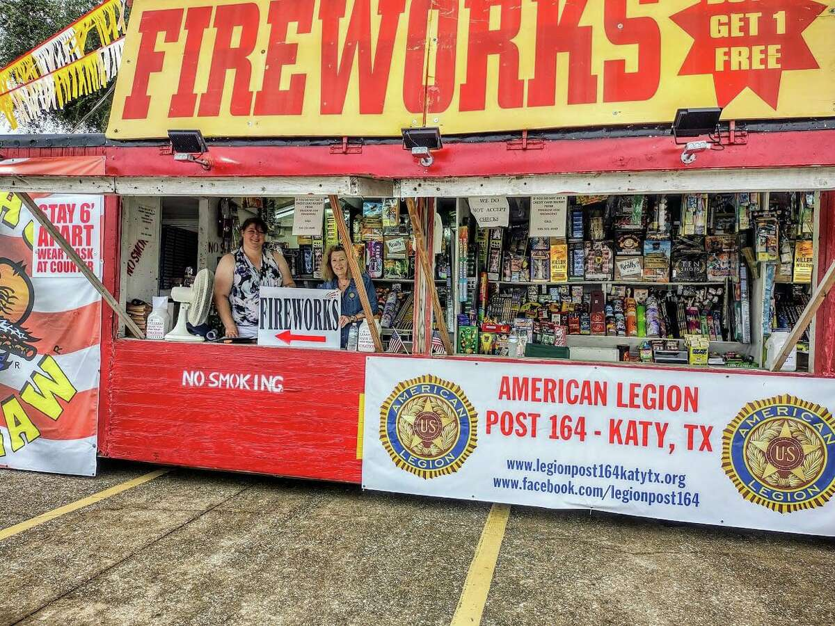 The American Legion Post 164 is raising funds for veterans at their fireworks stand, located at 505 South Fry Road in Katy.