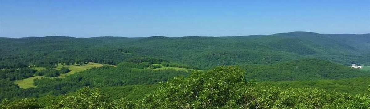 The 627 acres of land off Beech Hill Road in Goshen are preserved as part of a program to protect the Connecticut Highlands.
