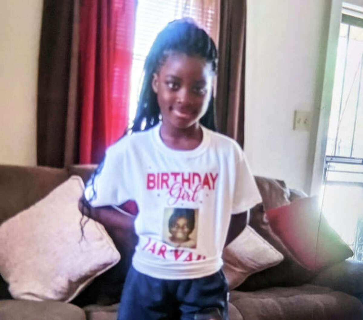 Edwardsville police are seeking 9-year-old Jarvah White, who is reported as missing.