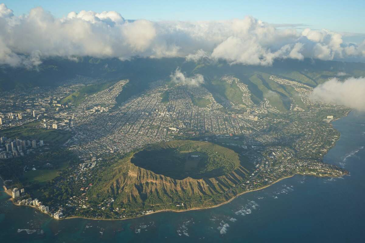 A Boeing 737 cargo plane made an emergency landing in the waters off Honolulu early Friday, July 2, 2021.