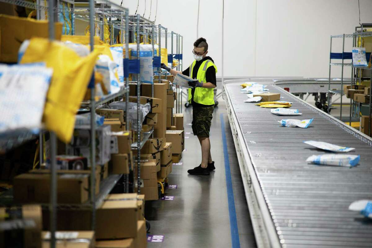 Amazon Logistics is projected to hire between 200 and 250 employees to work at the site at 2455 Tuscan Lakes Blvd., which is expected to be completed in 2022.