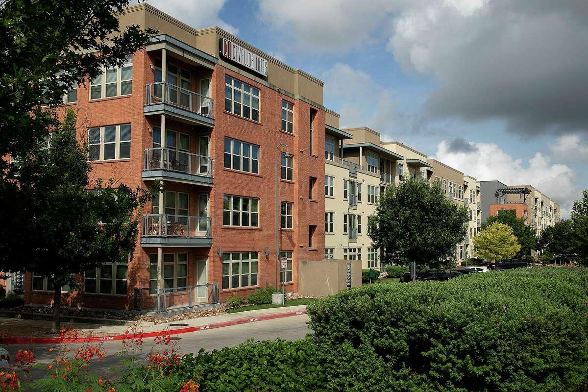 Cevallos Lofts in the Southtown neighborhood of San Antonio on July 1, 2021.