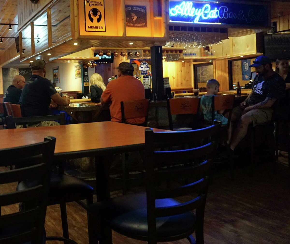 Complete with a bar and a dining room large enough to accommodate plenty of guests, Alley Cat is truly a one-of-a-kind destination for all age groups. (Pioneer photo/Joe Judd)