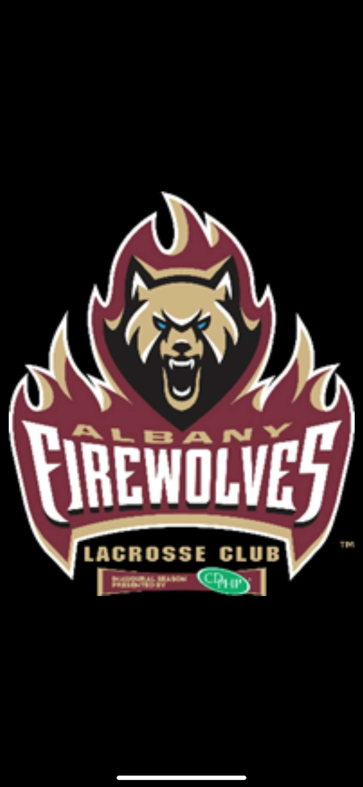 The Albany Firewolves new logo, revealed by the team on July 2, 2021. (Albany FireWolves)