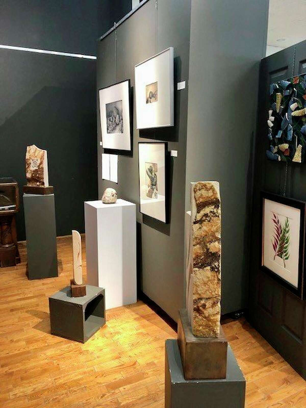 """The Artworks exhibit """"Geology Rocks!"""" running June 1 through August 26 featuresthe photography of Stephen ross and his work """"Lithoscapes: The Abstract Art of Rock,"""" sculptures by Autumn Bildson, and drawings by Julie Tyslicky. (Courtesy/Roxanne Cullen)"""