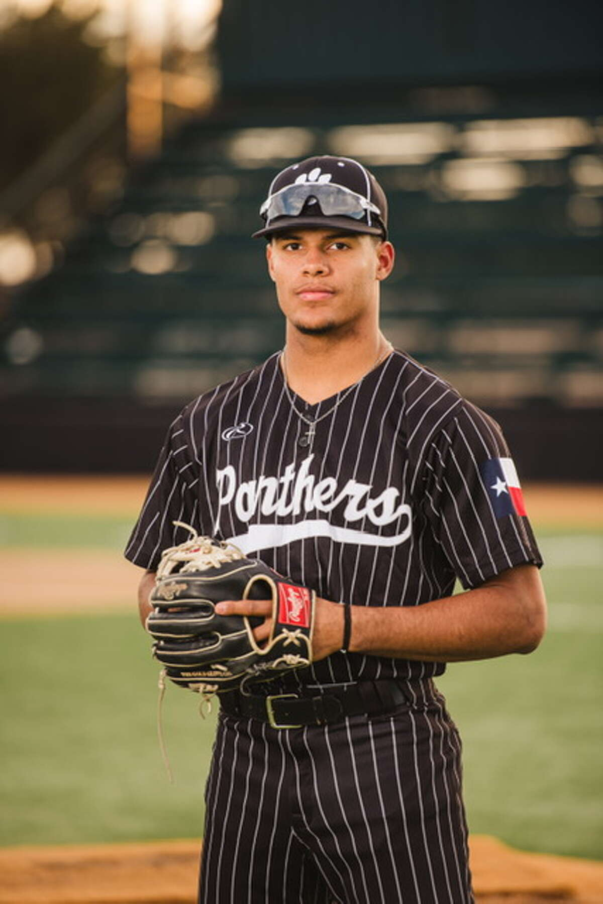 Odessa Permian outfielder and pitcher Teo Banks.