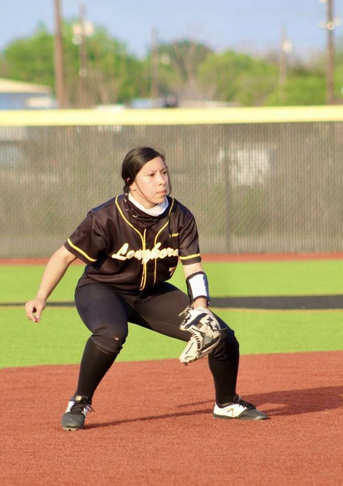 Alexia Alegria hit .450 with 24 RBIs and 20 runs in her freshman season at Hebbronville.