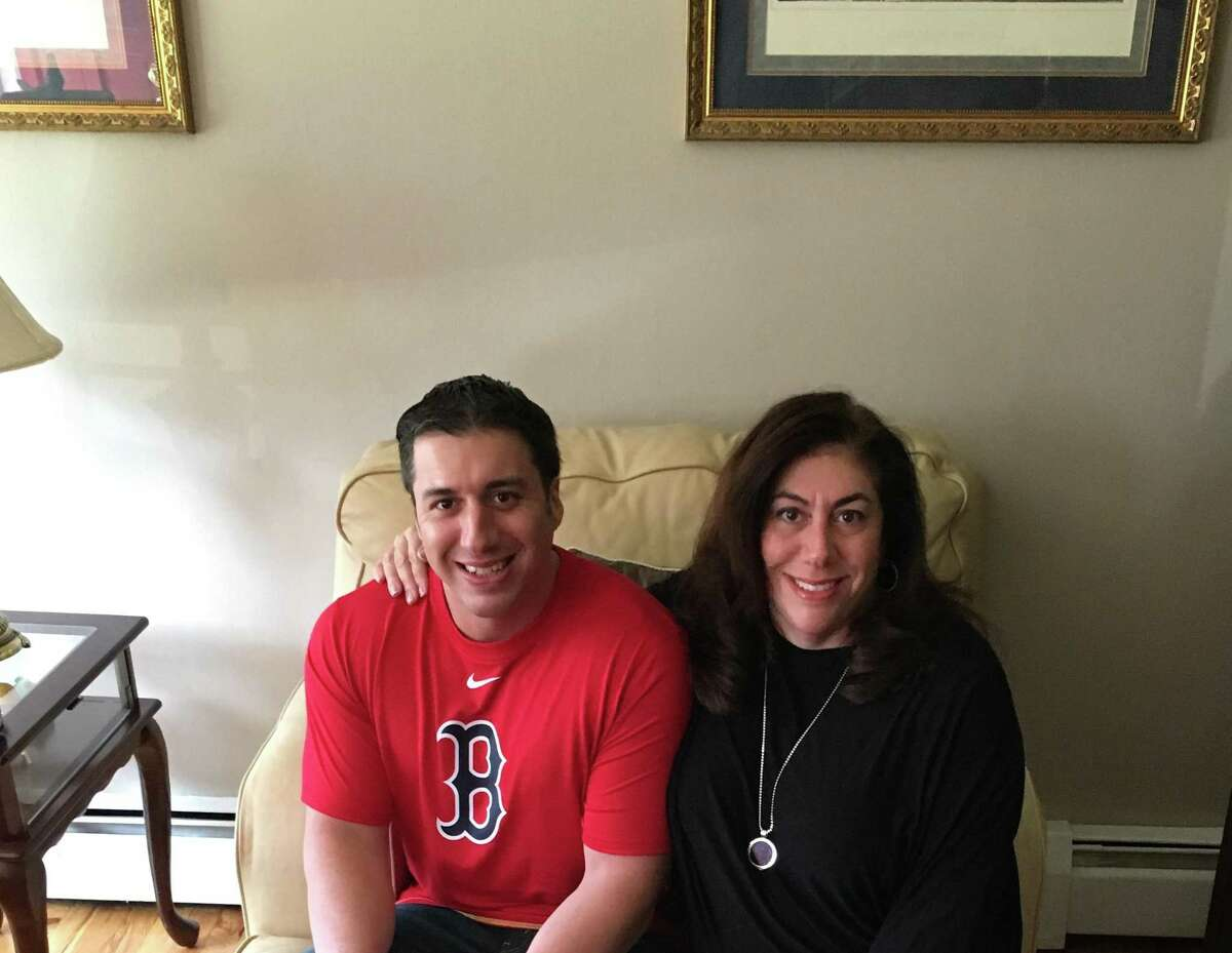 Vincent Fairchild, 37, died of a fatal drug overdose. He is shown here with his mother, Diana Fairchild.