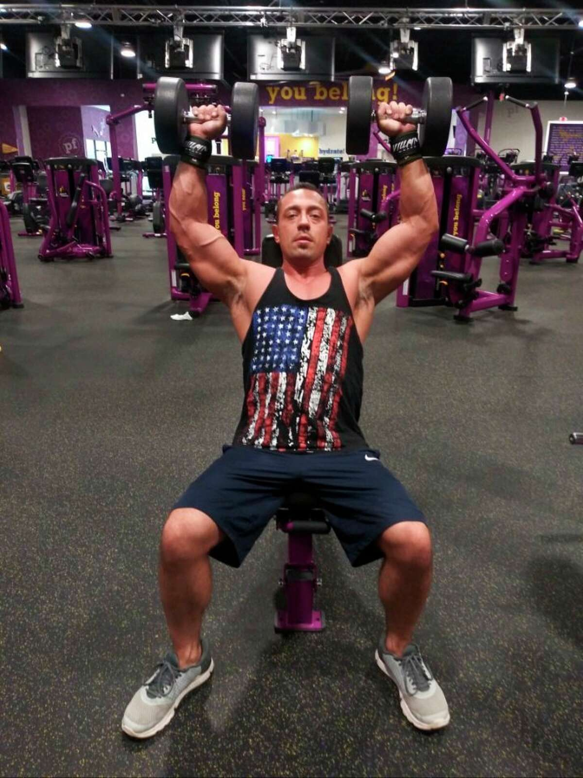 Midland resident Steven Sian is competing in the Mr. Health & Fitness competition in Muscle & Fitness Magazine. (Photo provided)