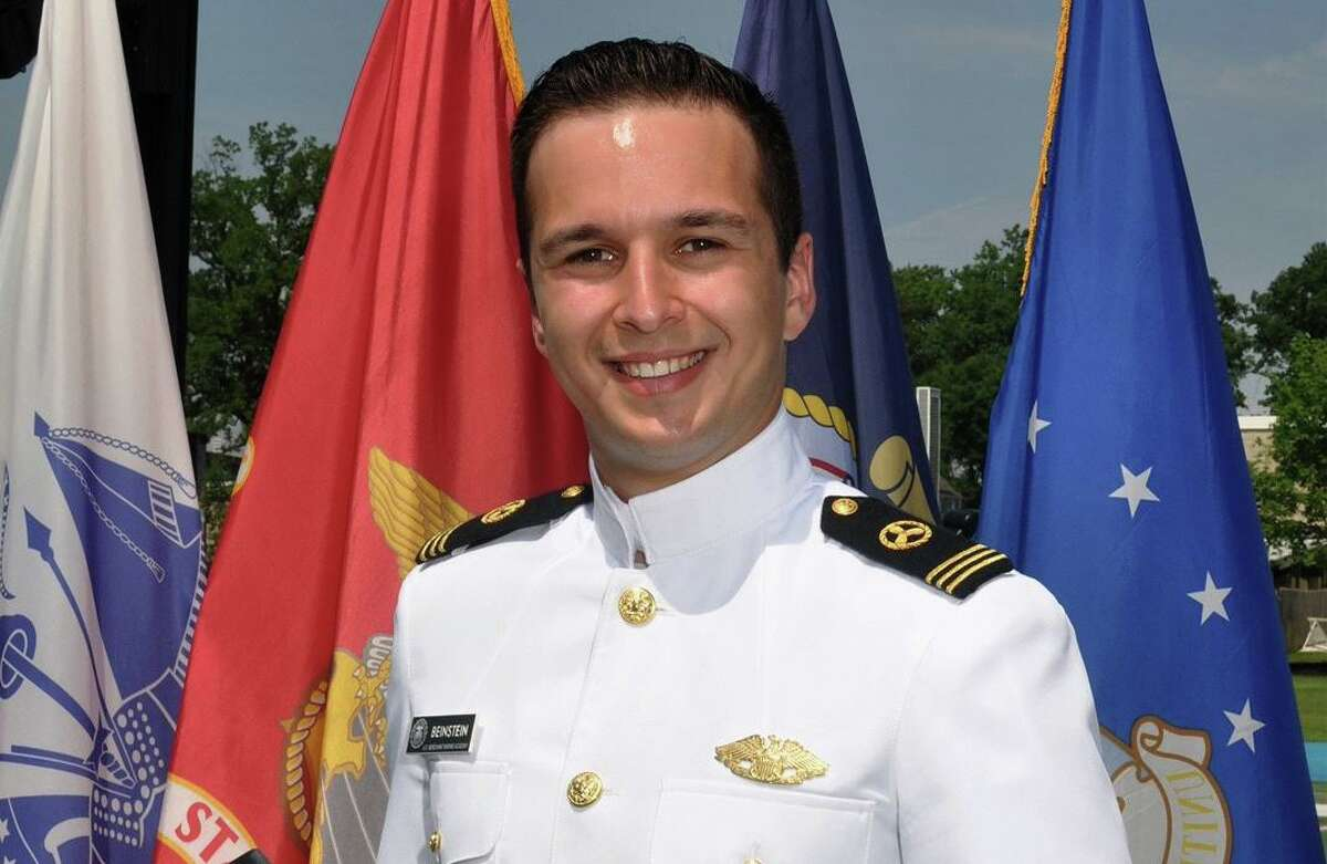 Jake Nolan Beinstein of Greenwich recently graduated from the United States Merchant Marine Academy at Kings Point, N.Y. Beinstein earned a bachelor of science degree and a commission in the U. S. armed forces. He also earned a Merchant Marine officer license, qualifying him to serve as an officer on any ship in the U.S. flag merchant marine. Beinstein is a graduate of Greenwich High School.