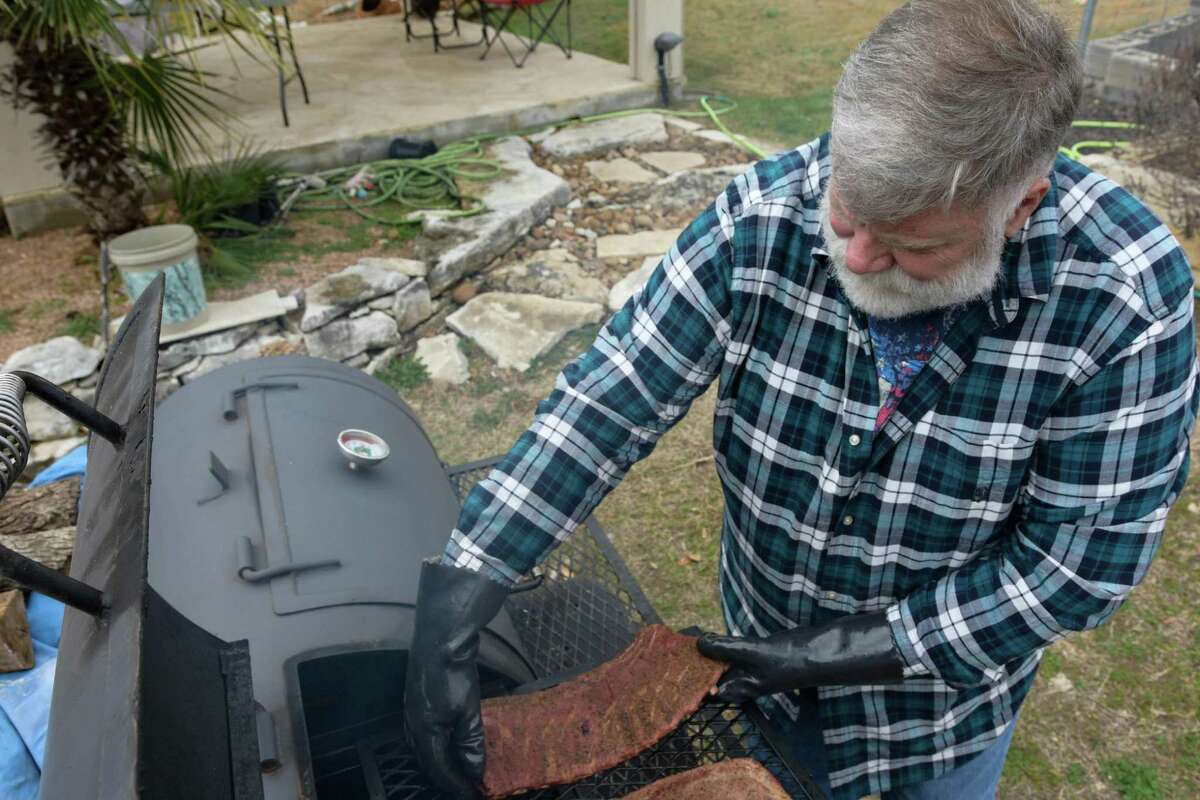 Darwin Hoel, a champion competition barbecue cook out of San Antonio, says a smoke ring is only important in competition because judges look for that. But when he's cooking at home, he doesn't worry about serving meats without smoke rings.