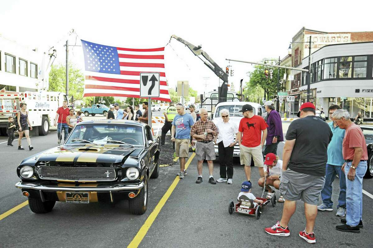 The Torrington Car Show attracts car collectors from around the state, as well as hundreds of spectators. This year's show is set for July 30 on Main Street. Pictured is a scene from 2019.