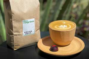 Hey Neighbor is a new fourth wave coffee shop at 2 Burrows Street in San Francisco.
