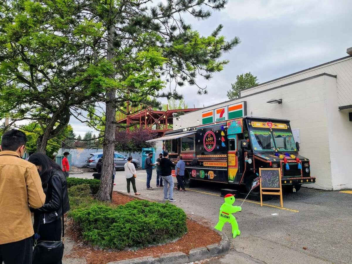 Lari Adda food truck in Bellevue
