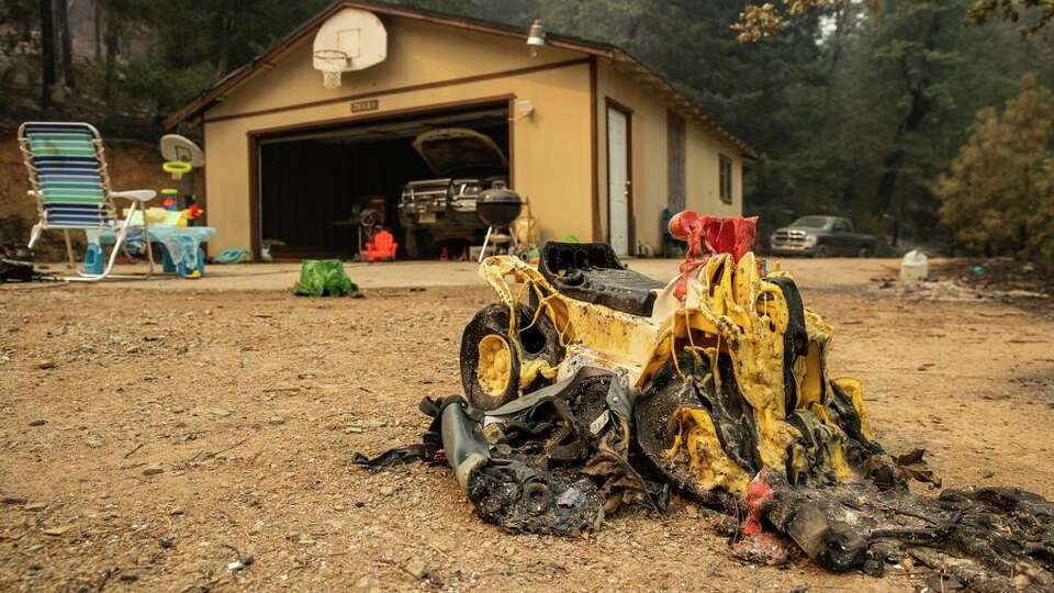 Story photo for Salt Fire destroys homes, becomes fiercest of several Northern California fires