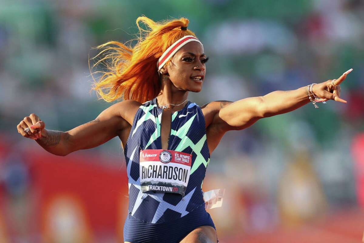 Sha'Carri Richardson lit up the track at the U.S. trials in June but a positive drug test for marijuana has her Olympic future in doubt.