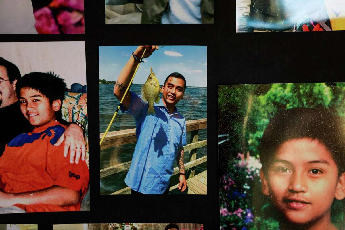 Photos of Angelo Quinto at his home in Antioch.