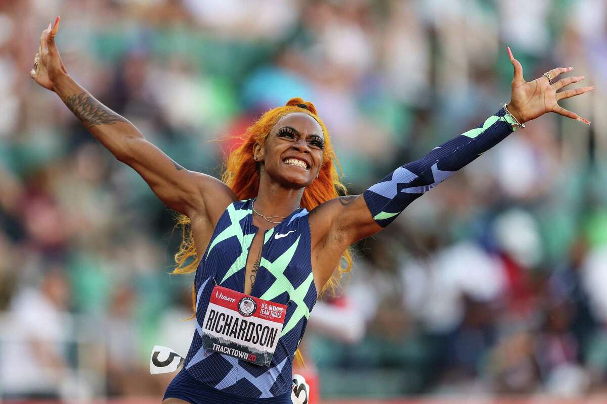 Sprinter Sha'Carri Richardson will not be able to participate in the 100-meter event at the 2020 Tokyo Olympics after testing positive for marijuana at the U.S. Olympic Trials in June.