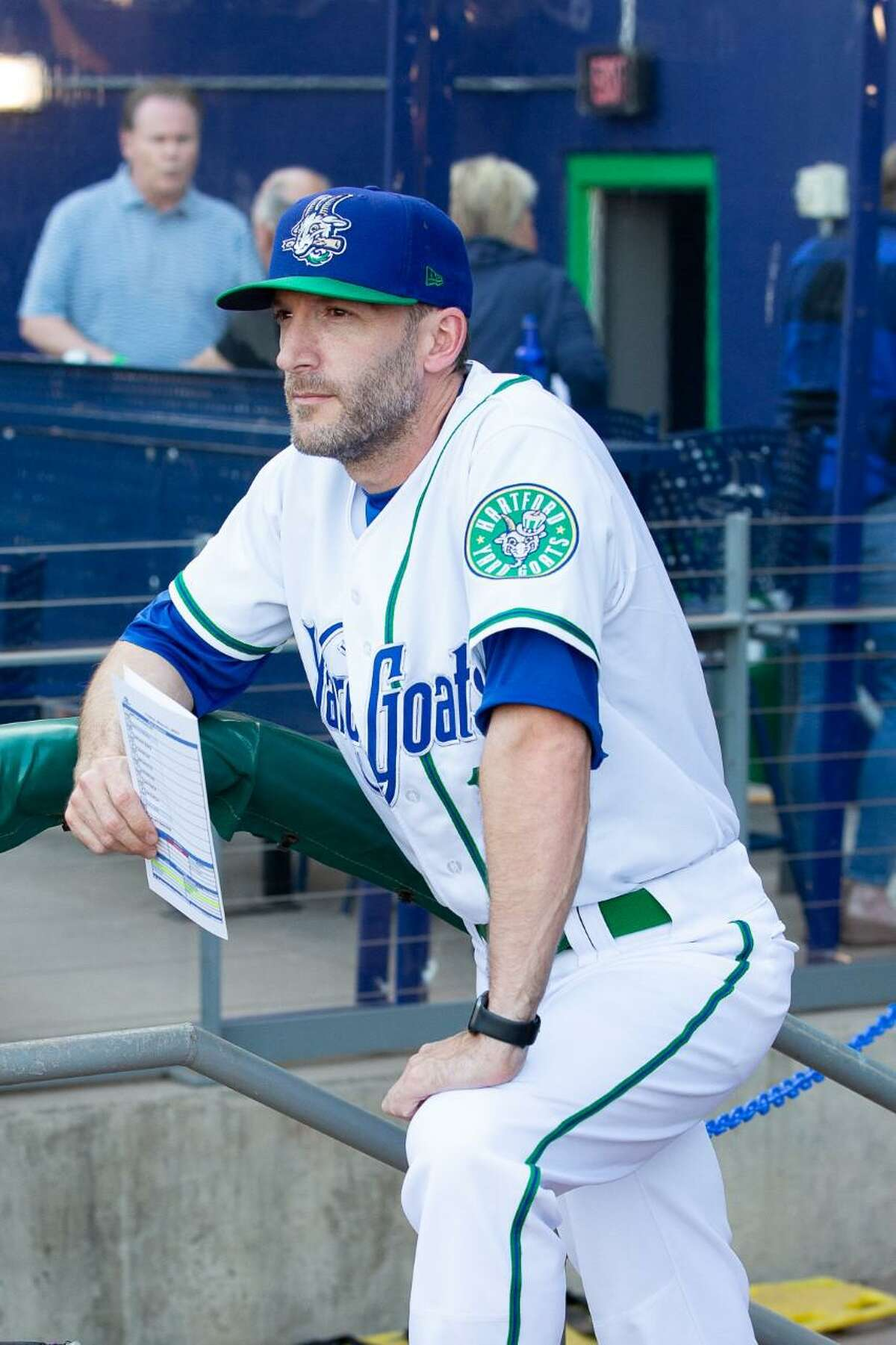 Southington's Chris Denorfia enjoying working near home in his first season as manager with the Hartford Yard Goats.