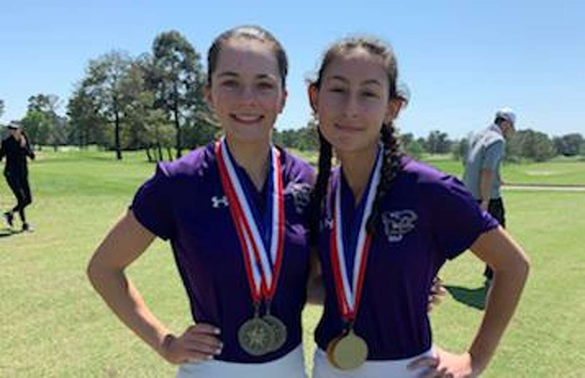 The Texas Association of Golf Coaches released the list of student-athletes who were named to the 2020-2021 All-State and Academic All-State teams. Klein Cain had six golfers recognized including Jordan McAlister (left) and Zoë Hobbs.