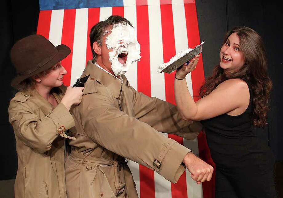 Pie Facial: Ashley Christensen, Rocky Bonsal and Jennifer Van Iderstyne