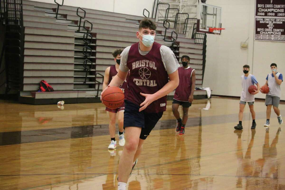 Donovan Clingan is a 7-foot-1 junior at Bristol Central High. He committed to UConn Friday.