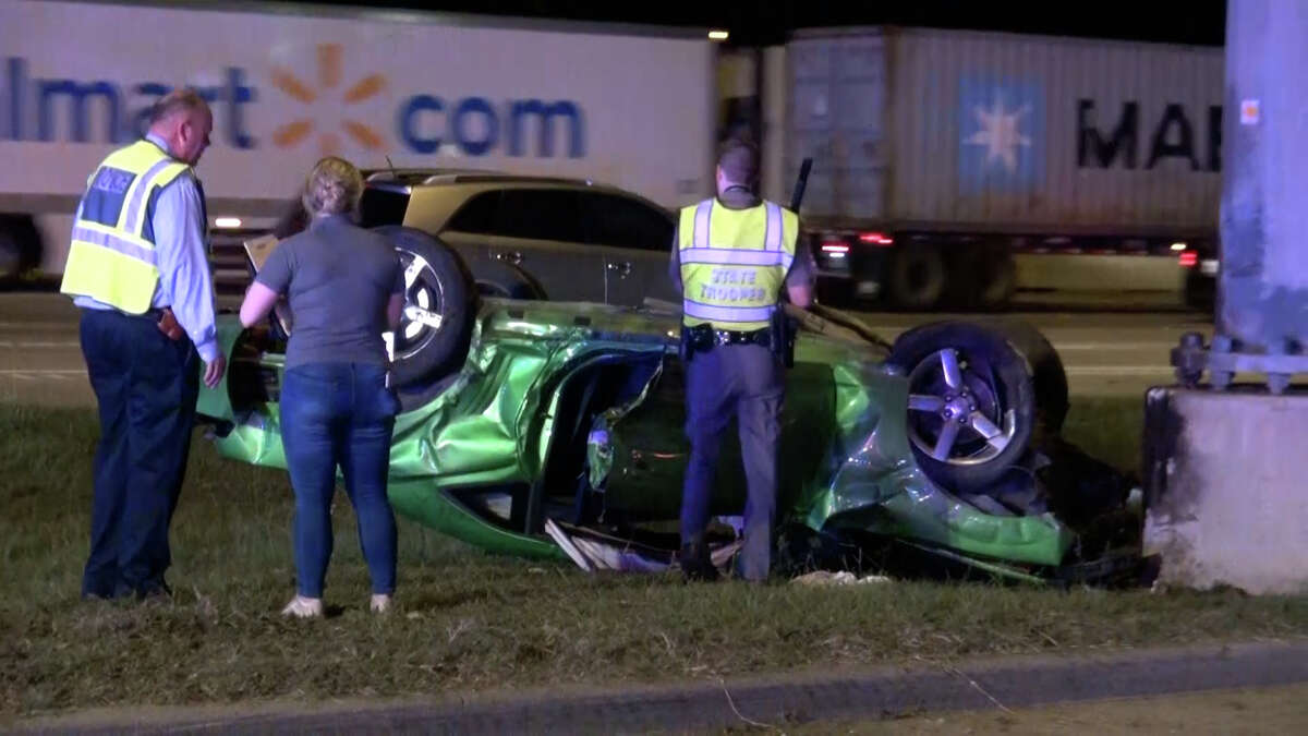 Authorities investigating a fatal street racing crash early Saturday in Montgomery County.