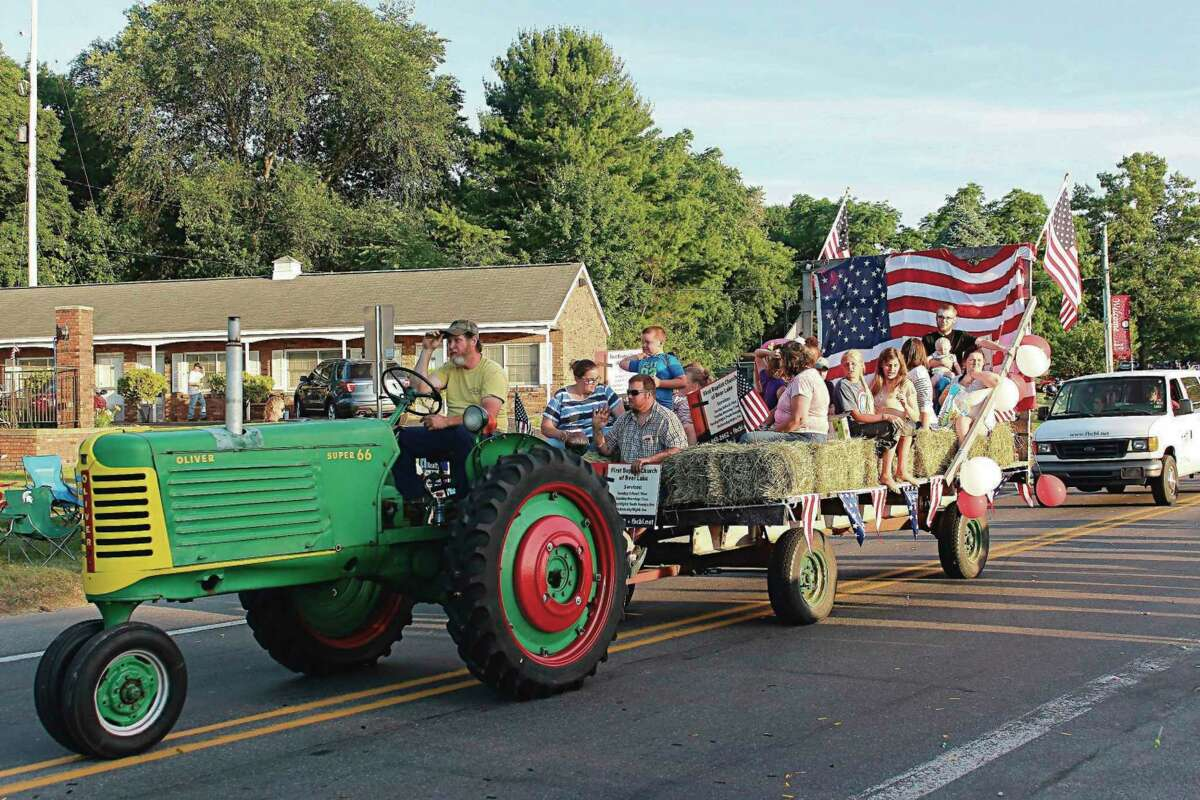 Bear Lake pride was showing everywhere in the many entries in the grand parade in 2019. The 2021 parade will take place at 8 p.m. on Saturday. (File photo)
