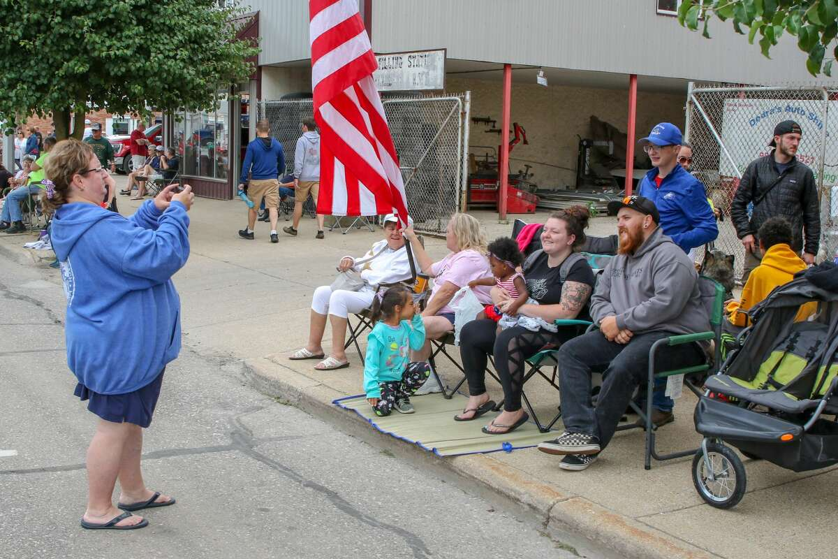 People piled into Cass City for the 2021 Freedom Festival, lining the streets for the grand parade and enjoying a number of activities in the park following the parade.