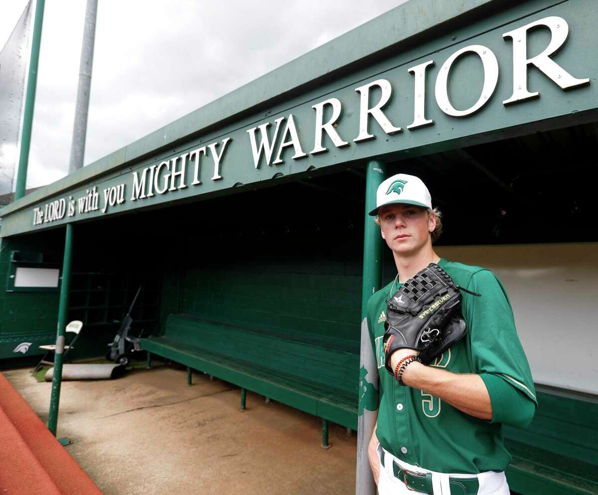 The Woodlands Christian Academy's Caedmon Parker, a TCU commit, is also projected to be selected in this year's MLB draft.