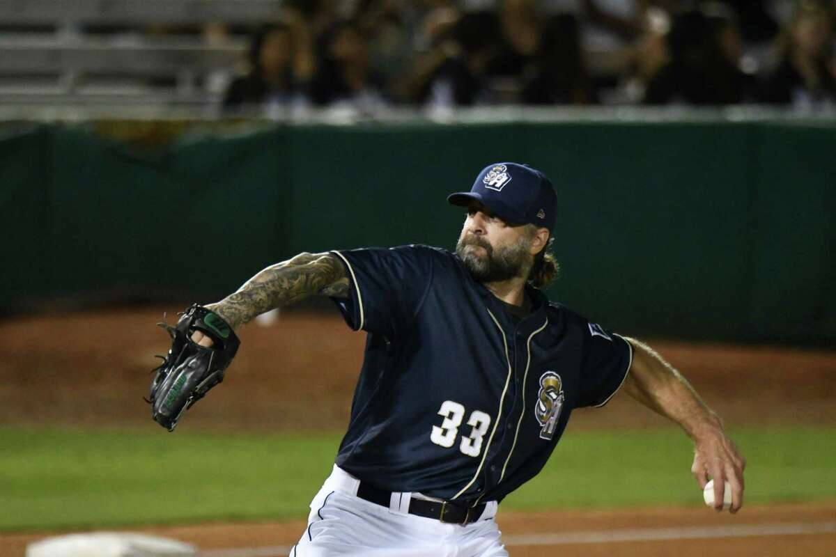 Missions reliever Joe Biemel, 44, spent 13 seasons in the major leagues and is aiming for a comeback.