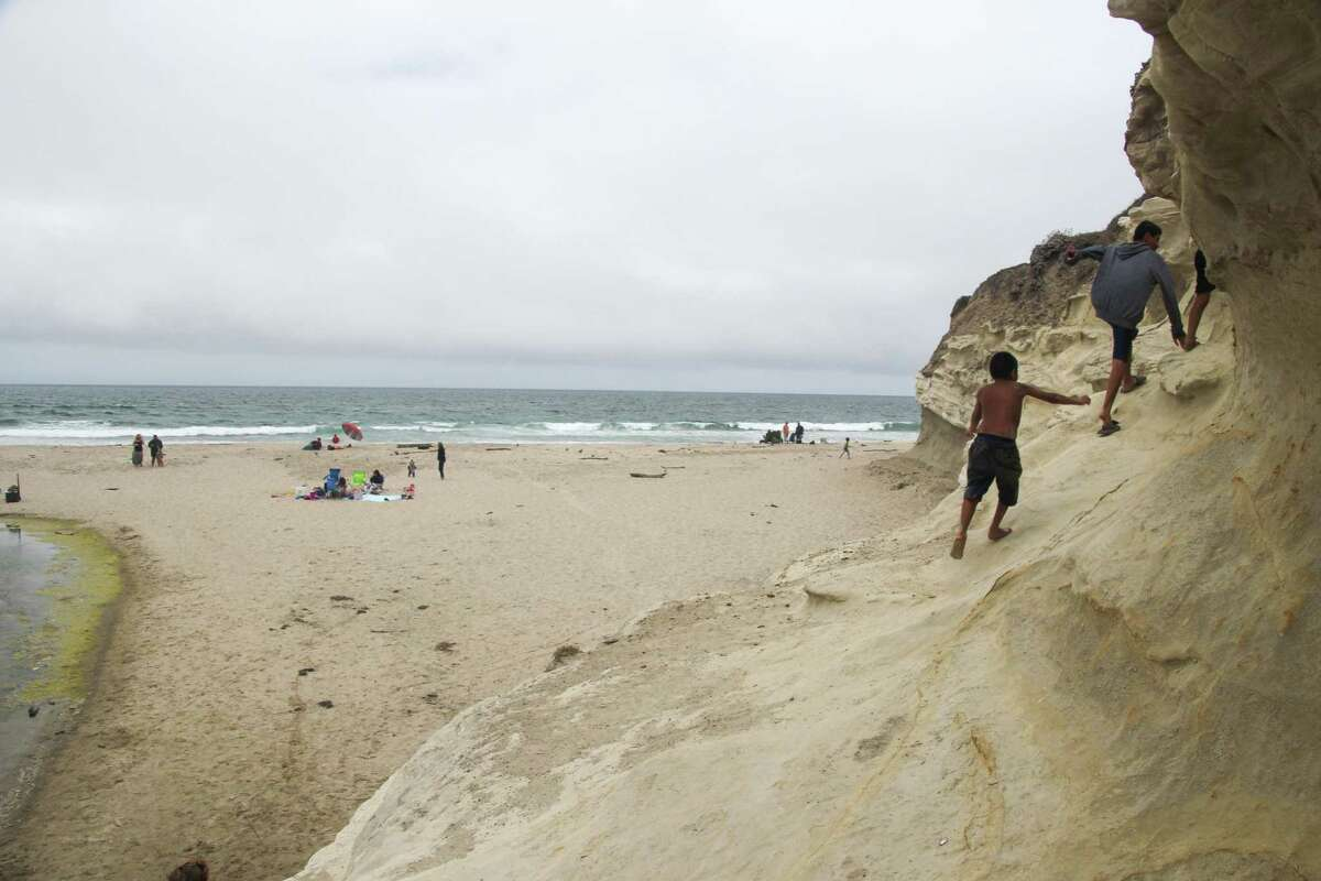San Gregorio Beach is seen on Saturday, July 12, 2014 in San Gregorio, Calif.