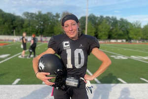 The New York Knockout, which plays its games in Schenectady County, features All-American Alaina Lange, a former College of Saint Rose soccer player. (Provided)