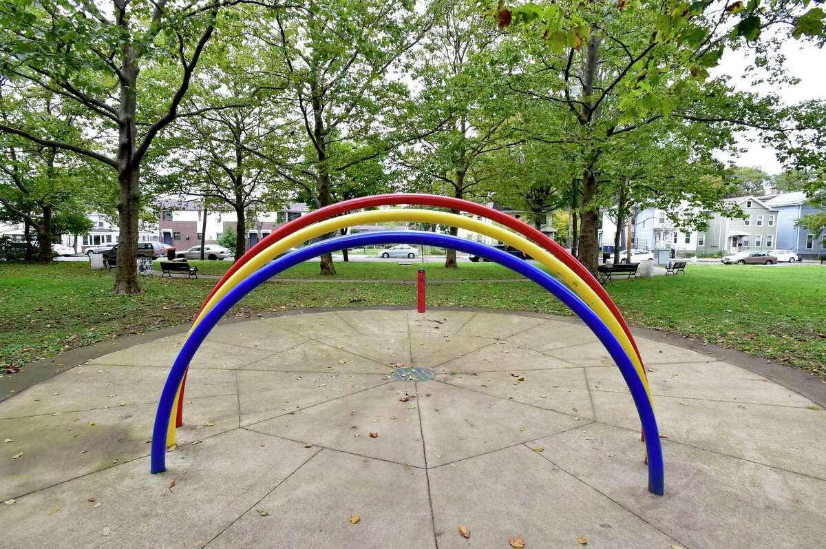 Kensington Park in New Haven.