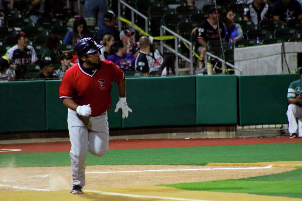 Tecolotes Dos Laredos outfielder Enrique Osorio has been one of the Mexican Baseball League's best hitters this season.