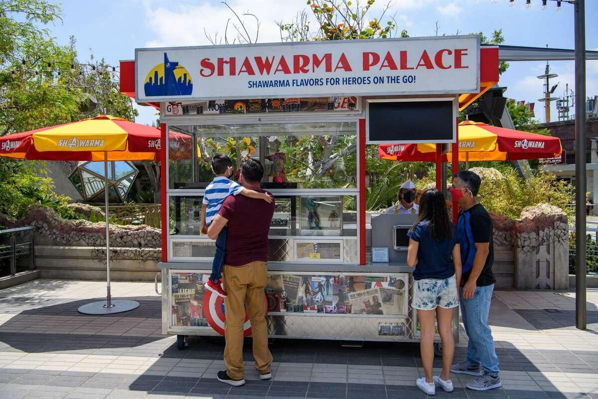Shawarma Palace in Avengers Campus at Disney California Adventure Park.
